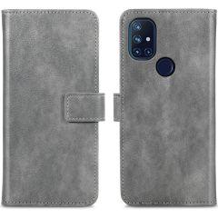 iMoshion Custodia Portafoglio de Luxe OnePlus Nord N10 5G - Grigio
