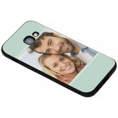 Cover Flessibile Personalizzate Samsung Galaxy A3 (2017) - Nero