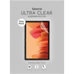 Selencia Pellicola Protettiva Ultra Trasparente Duo Pack Samsung Galaxy Tab A7