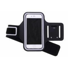 Fascia da braccio sportiva nera per iPhone SE (2020) / 8 / 7 / 6(s)