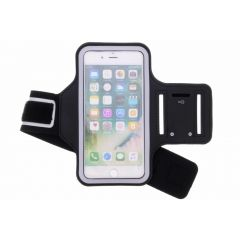 Fascia da braccio sportiva per iPhone 8 Plus / 7 Plus - Nera