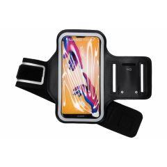 Fascia da braccio sportiva per Huawei P20 Lite - Nera