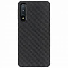 Cover in Carbonio Samsung Galaxy A7 (2018) - Nero