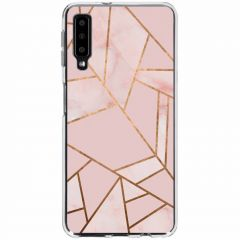 Cover Design Samsung Galaxy A7 (2018) - Pink Graphic