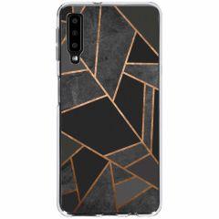 Cover Design Samsung Galaxy A7 (2018) - Black Graphic