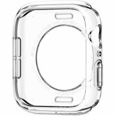 Spigen Liquid Crystal Custodia Apple Watch 44 / 42 mm - Trasparente