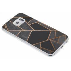 Cover Design Samsung Galaxy S6 - Black Graphic