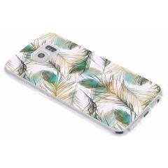 Cover Design Samsung Galaxy S6 - Golden Peacock
