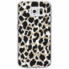 Cover Design Samsung Galaxy S6 - Golden Leopard