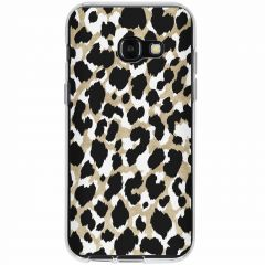 Cover Design Samsung Galaxy A3 (2017) - Golden Leopard