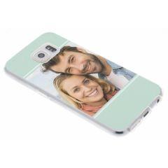 Cover Flessibile Personalizzate Samsung Galaxy S6 - Trasparente