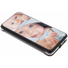 Custiodia Personalizzate (unilaterale) Samsung Galaxy A8 (2018) - Nero