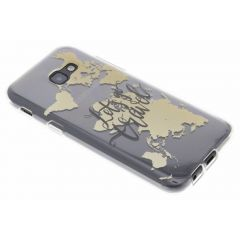 Cover Design Samsung Galaxy A5 (2017) - Quote World Map