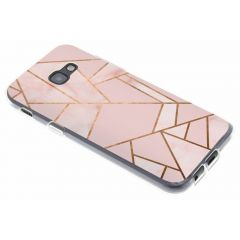 Cover Design Samsung Galaxy A5 (2017) - Pink Graphic