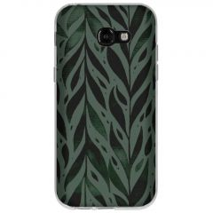 Cover Design Samsung Galaxy A5 (2017) - Green Leaves
