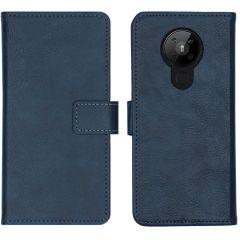 iMoshion Custodia Portafoglio de Luxe Nokia 5.3 - Blu scuro