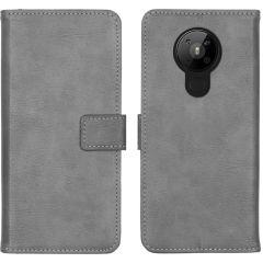iMoshion Custodia Portafoglio de Luxe Nokia 5.3 - Grigio
