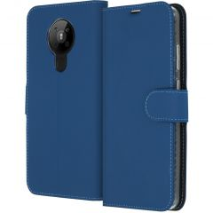 Accezz Custodia Portafoglio Flessibile Nokia 5.3 - Blu scuro