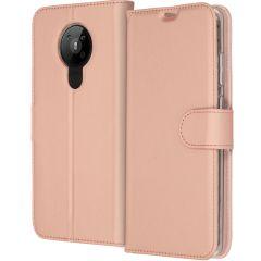 Accezz Custodia Portafoglio Flessibile Nokia 5.3 - Rosa