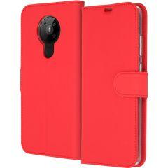 Accezz Custodia Portafoglio Flessibile Nokia 5.3 - Rosso