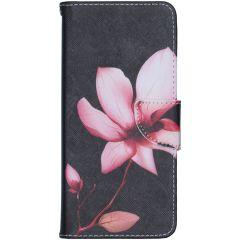 Custodia Portafoglio Flessibile Nokia 5.3 - Flowers