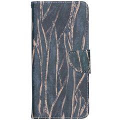 Custodia Portafoglio Flessibile Nokia 5.3 - Wild Leaves