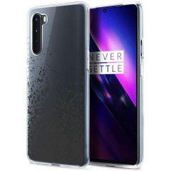 iMoshion Cover Design OnePlus Nord - Splatter Black