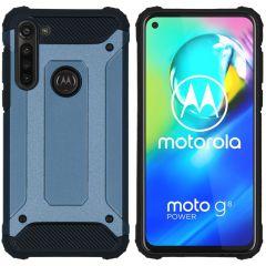 iMoshion Cover Robusta Xtreme Motorola Moto G8 Power - Blu scuro