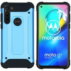 iMoshion Cover Robusta Xtreme Motorola Moto G8 Power - Azzurro