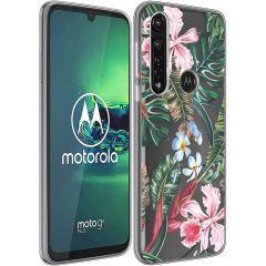 iMoshion Cover Design Motorola Moto G8 Power - Tropical Jungle