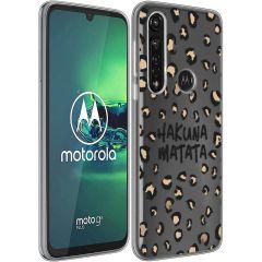 iMoshion Cover Design Motorola Moto G8 Power - Hakuna Matata