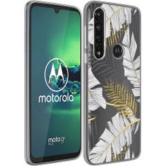 iMoshion Cover Design Motorola Moto G8 Power - Glamour Botanic