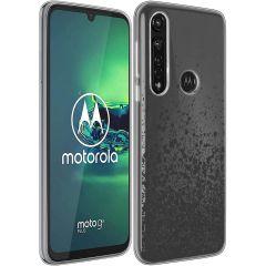 iMoshion Cover Design Motorola Moto G8 Power - Splatter Black