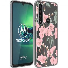 iMoshion Cover Design Motorola Moto G8 Power - Cherry Blossom