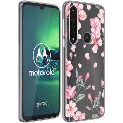 iMoshion Cover Design Motorola Moto G8 Power - Blossom Watercolor