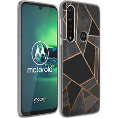 iMoshion Cover Design Motorola Moto G8 Power - Black Graphic