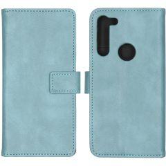 iMoshion Custodia Portafoglio de Luxe Motorola Moto G8 Power - Azzurro
