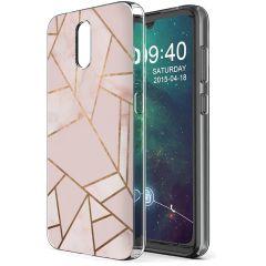 iMoshion Cover Design Nokia 2.3 - Pink Graphic