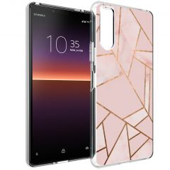 iMoshion Cover Design Sony Xperia 10 II - Pink Graphic