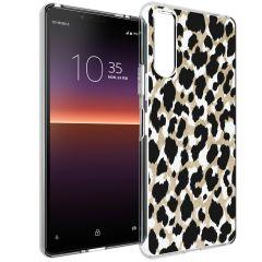 iMoshion Cover Design Sony Xperia 10 II - Golden Leopard