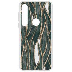 Cover Design Motorola Moto G8 Plus - Wild Leaves