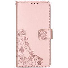 Custodia Portafoglio Fiori di Trifoglio Nokia 2.3 - Rosa