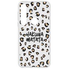 Cover Design Motorola Moto G8 Plus - Hakuna Matata