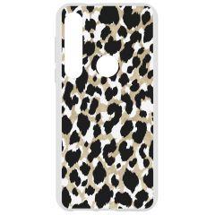 Cover Design Motorola Moto G8 Plus - Panther Black / Gold