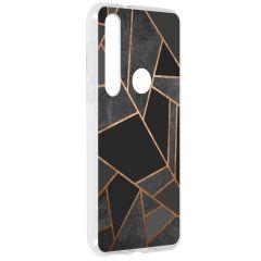 Cover Design Motorola Moto G8 Plus - Black Graphic