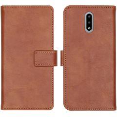 iMoshion Custodia Portafoglio de Luxe Nokia 2.3 - Marrone