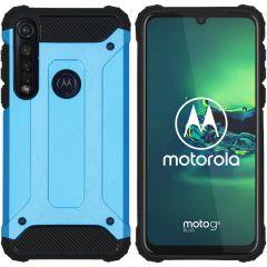 iMoshion Cover Robusta Xtreme Motorola Moto G8 Plus - Azzurro