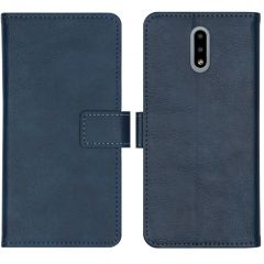 iMoshion Custodia Portafoglio de Luxe Nokia 2.3 - Blu scuro