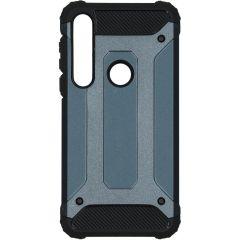 iMoshion Cover Robusta Xtreme Motorola Moto G8 Plus - Blu scuro
