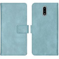 iMoshion Custodia Portafoglio de Luxe Nokia 2.3 - Azzurro
